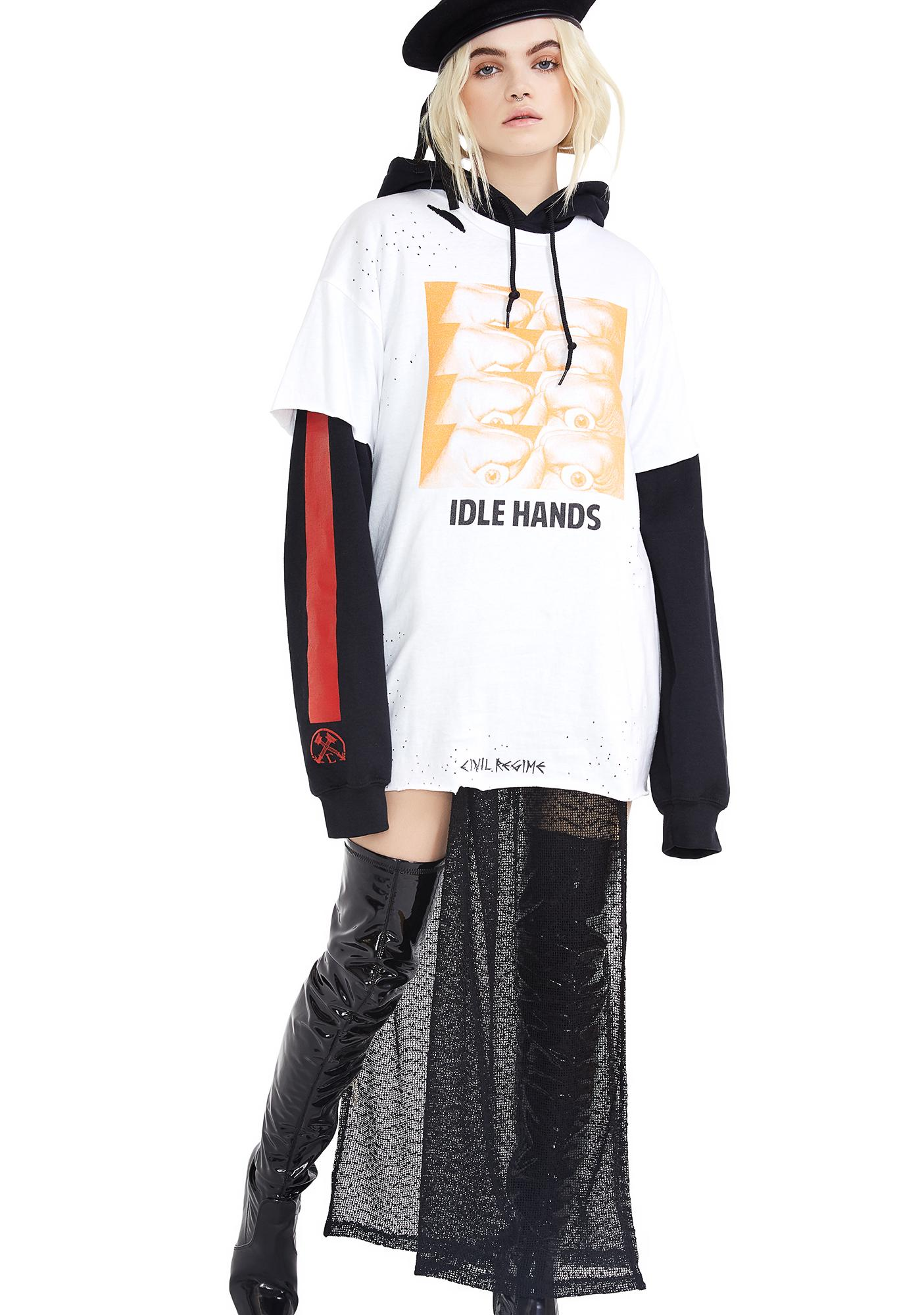 Civil Clothing Idle Hands Thrashed Tee
