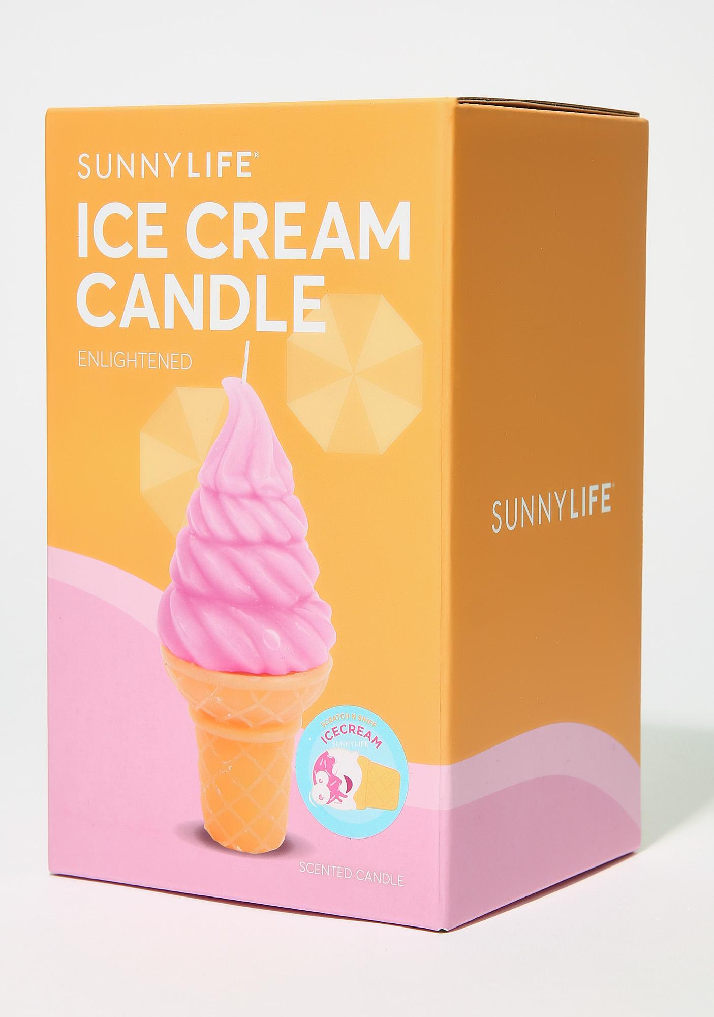 Medium Ice Cream Candle