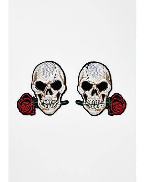 Skull Nifty Nipztix Pasties