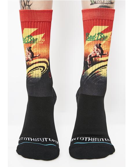 Into the Future Crew Socks