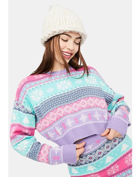 Visions Of Sugarplums Fairisle Sweater