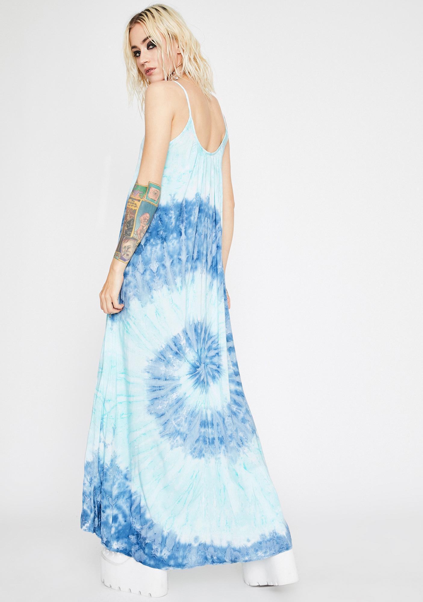 Twirling Skies Maxi Dress