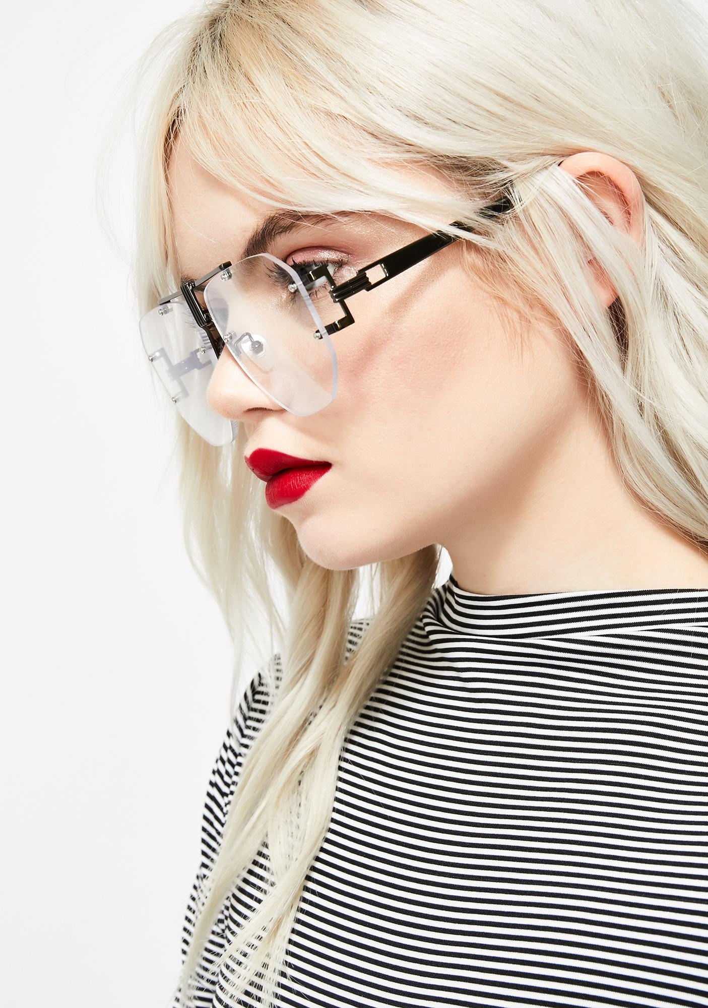 c8be25056 Techie Temptress Clear Glasses; Techie Temptress Clear Glasses