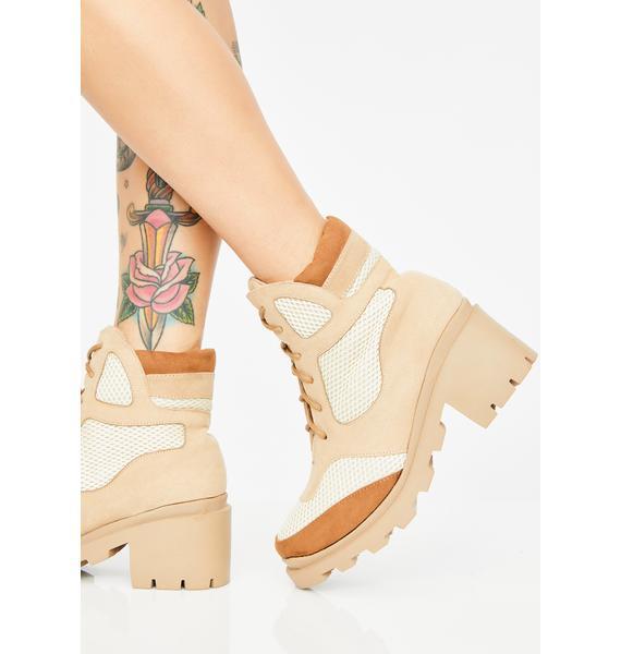 Saint Glam Combat Boots
