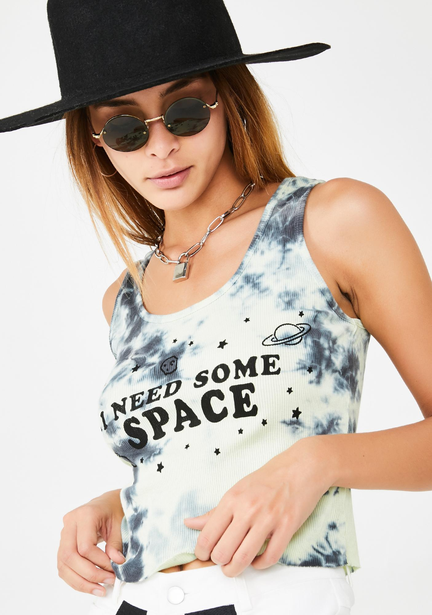 Organic Generation I Need Some Space Tie Dye Tank