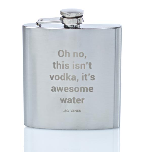 Jac Vanek Awesome Water Flask