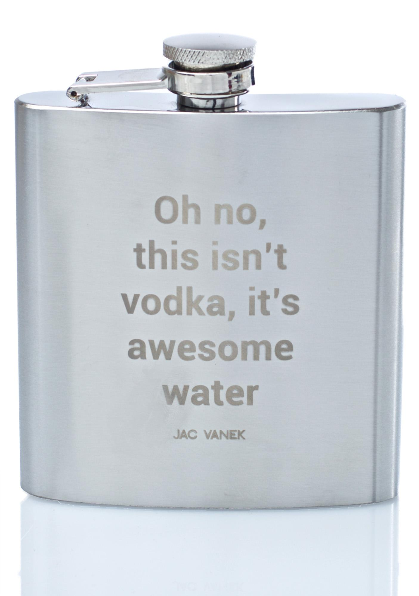 Jac Vanek Awesome Water Flask