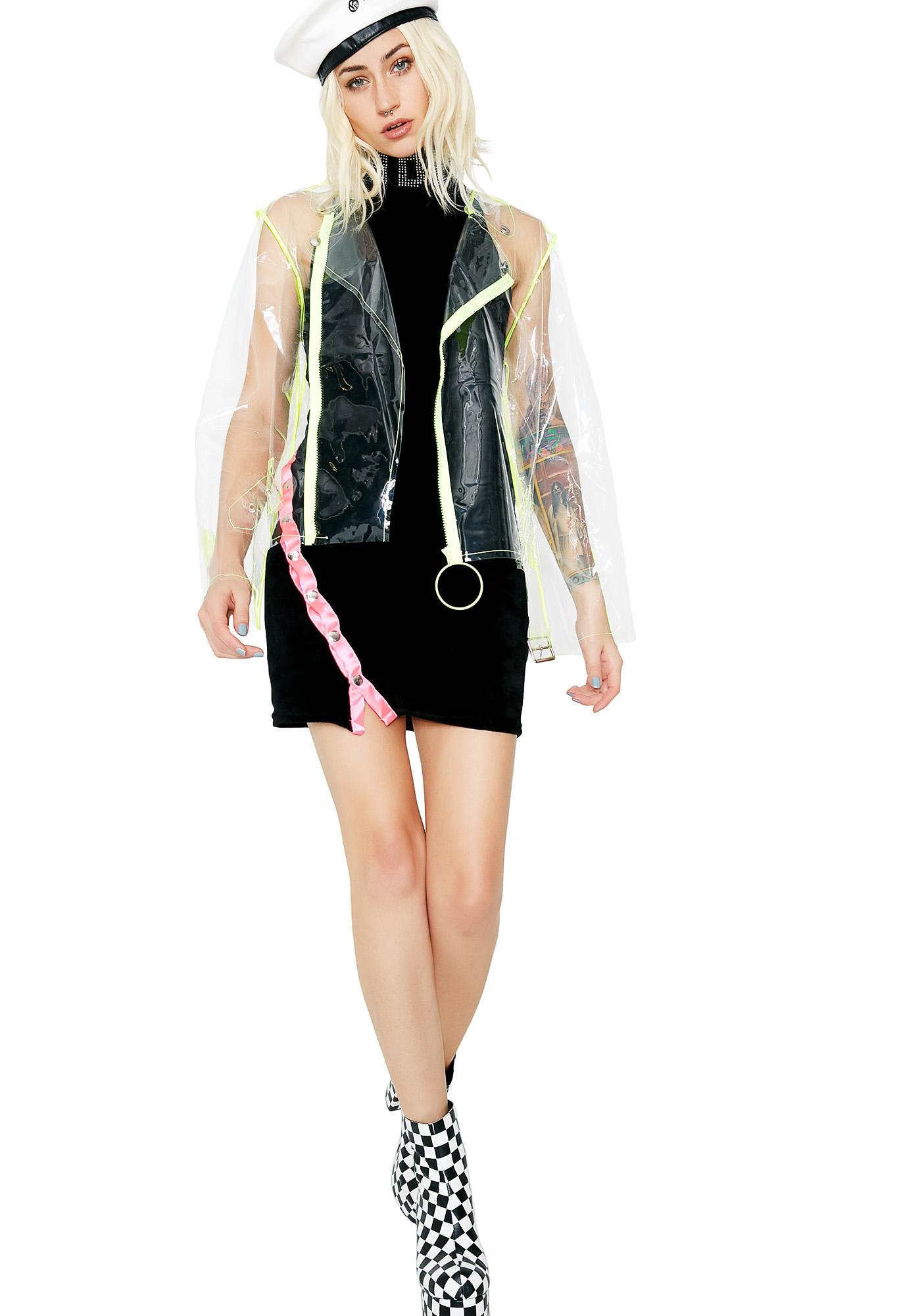 Jaded London Biker Jacket