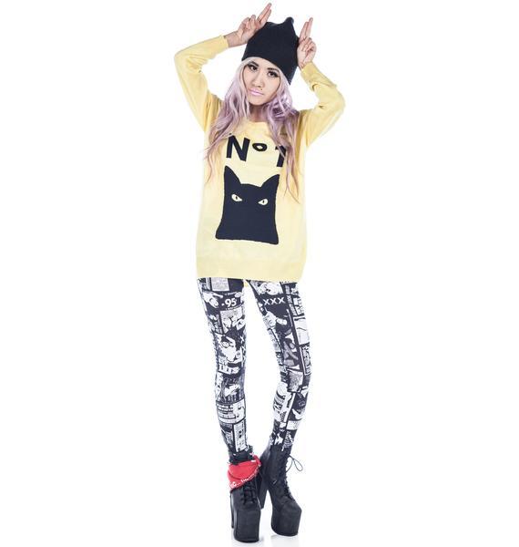 Joyrich Cat Eye Sweater