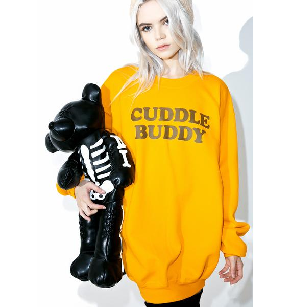 Petals and Peacocks Cuddle Buddy Sweatshirt