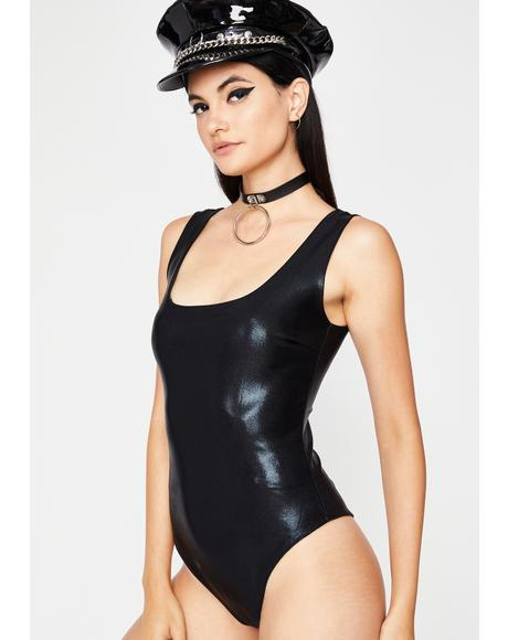 Eclipse Lunar Flare Shiny Bodysuit