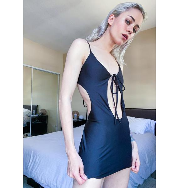 Bad Girls Only Cut Out Dress