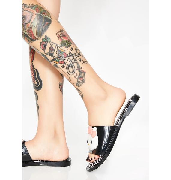 Melissa X Hello Kitty Sandal Slippers