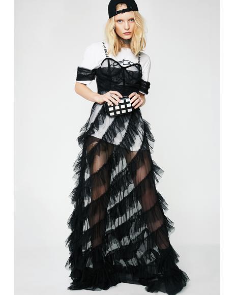 For The Frillz Maxi Dress