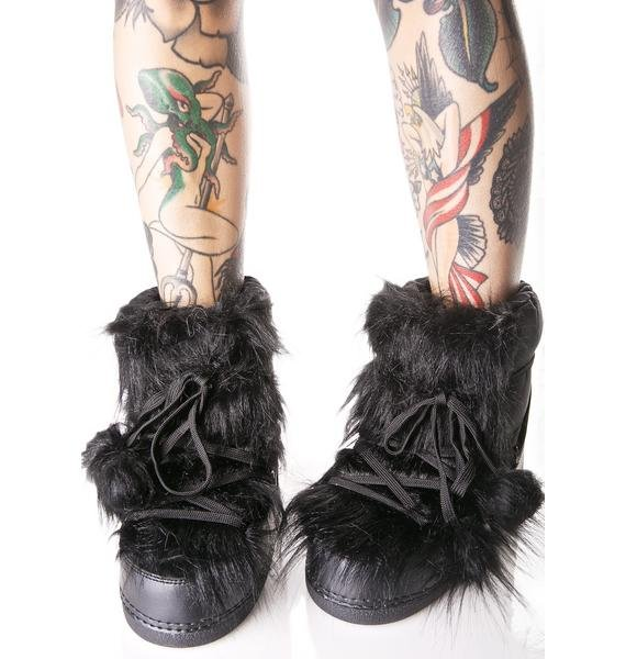 Dark Dreamland Moon Boots