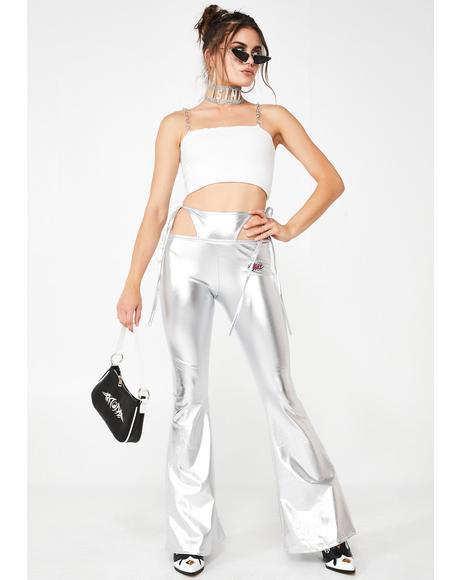 Platinum Bratitude Attitude G-String Pants