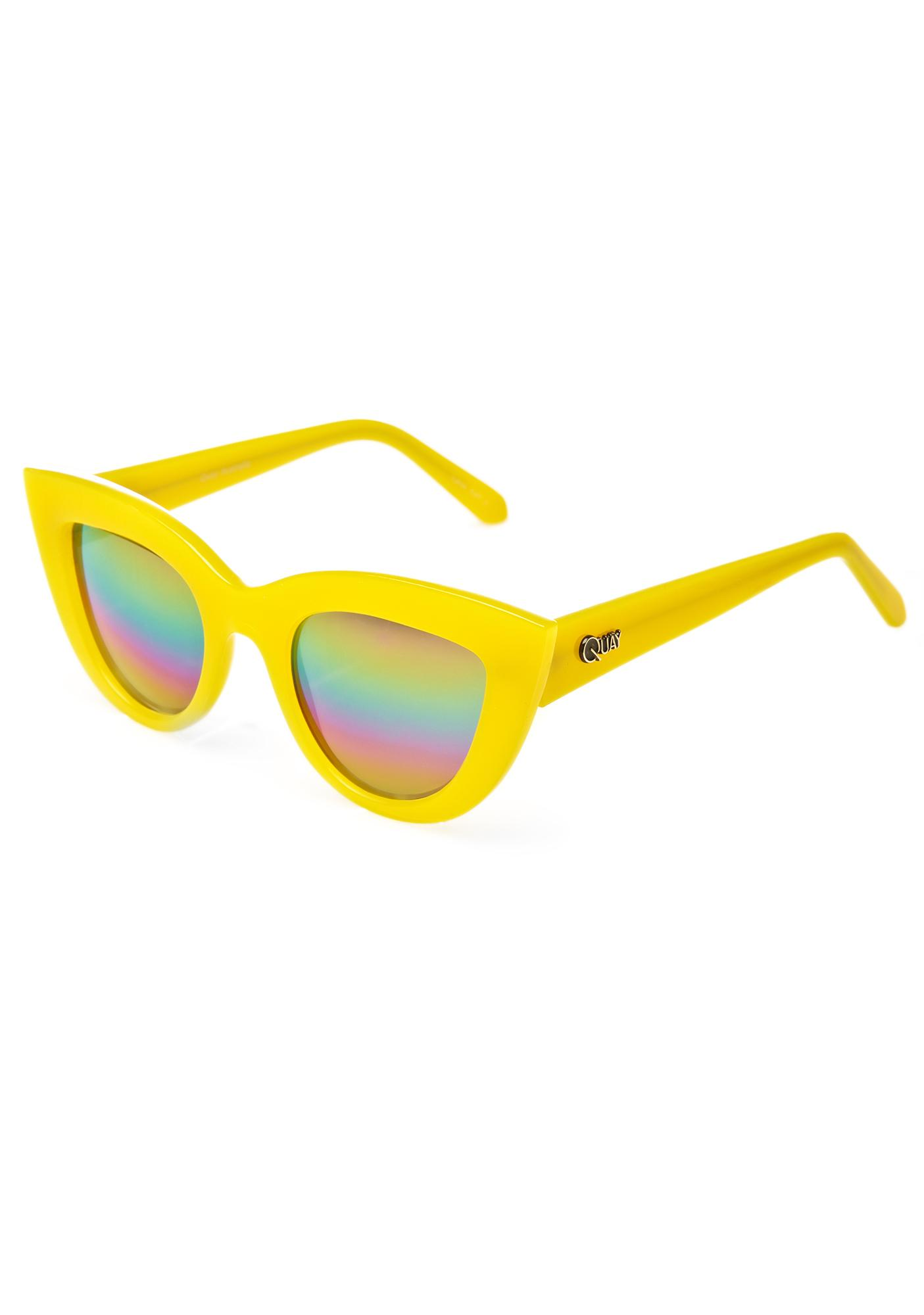 Quay Eyeware Rainbow Kitti Sunglasses