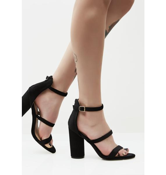 Triple Play Strappy Heels