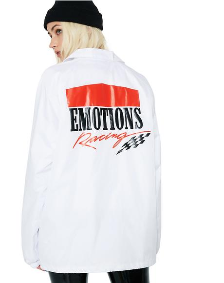 Emotions Racing Coach Jacket