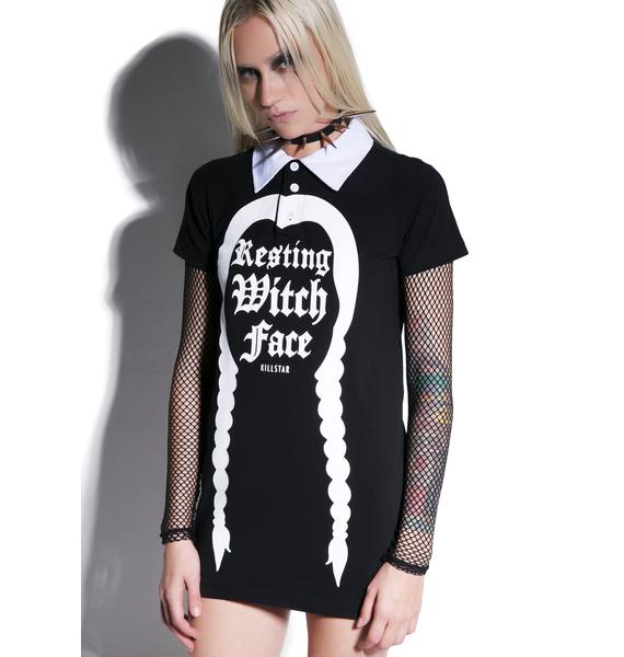 Killstar Resting Witch Collar Top