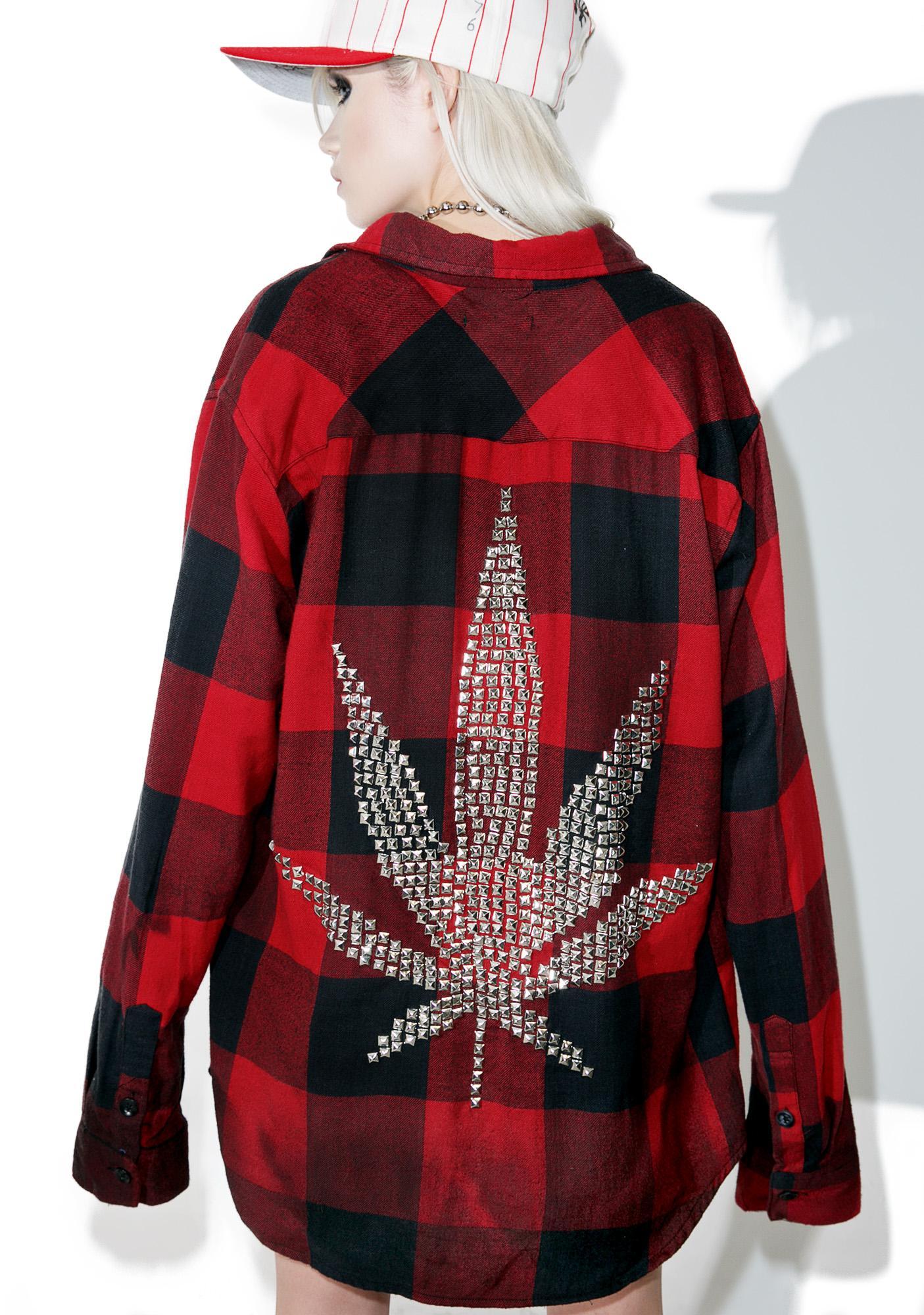 Hazmat Design 420 Flannel