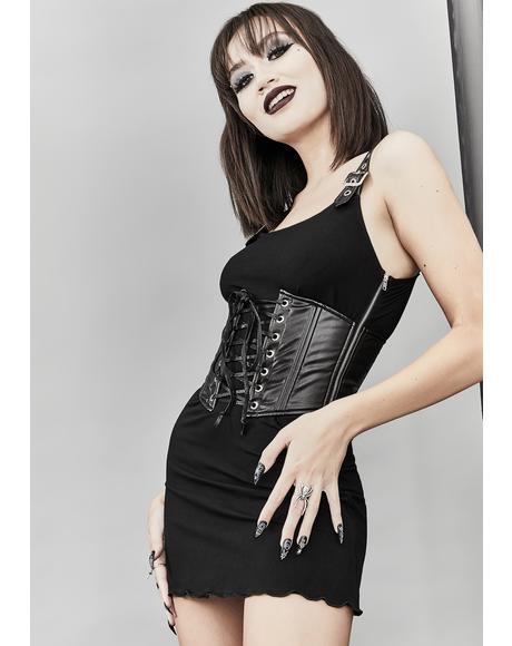 Fresh Hell Corset Dress