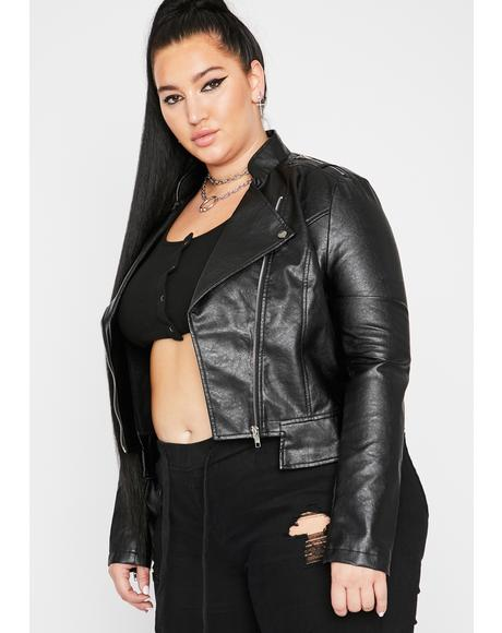 Miss Rockstar Mood Moto Jacket