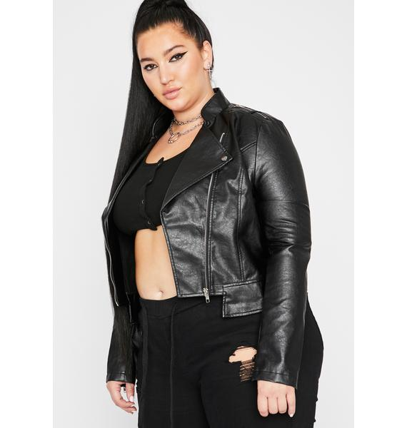 Miss Rockstar Mood Moto Jacket