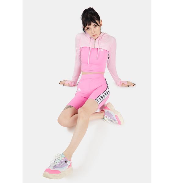 Kappa Pink 222 Banda Cicles 2 Biker Shorts