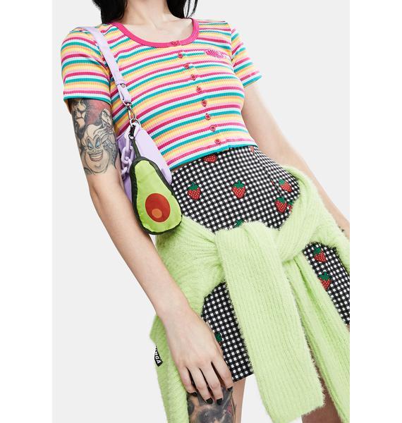 Avocatote Foldable Shopper Bag