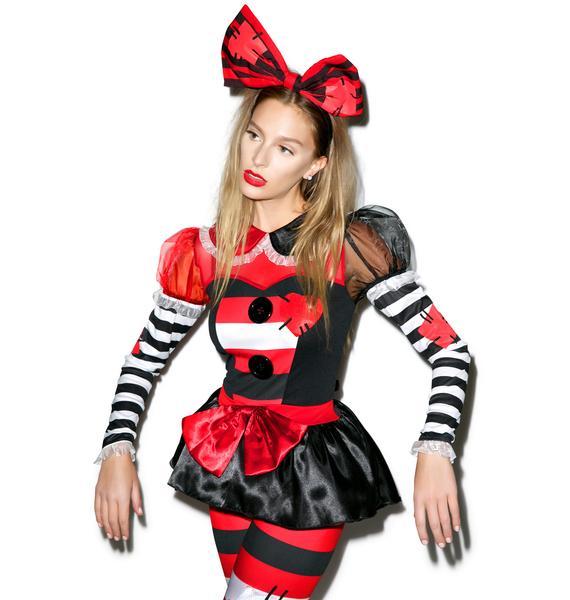 Raggedy Plaything Doll Costume