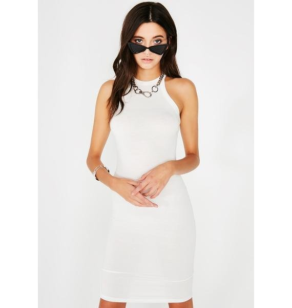 Icy What'z Good Midi Dress