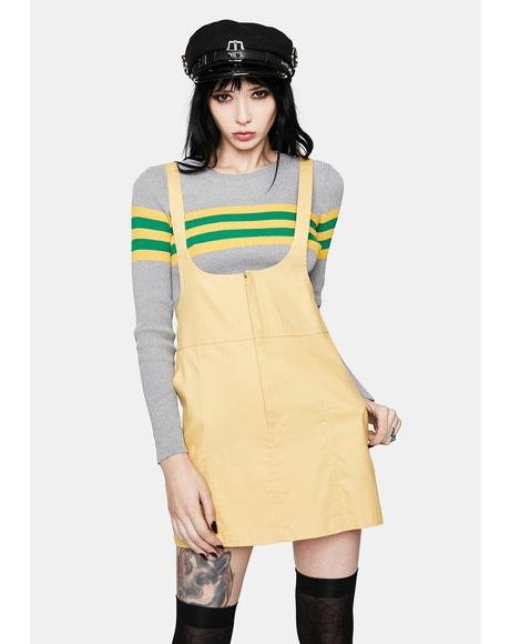 A Kiss From You Pinafore Dress