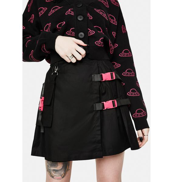 Black Friday Pluto Mini Skirt