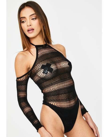 Inviting Desire Lace Bodysuit