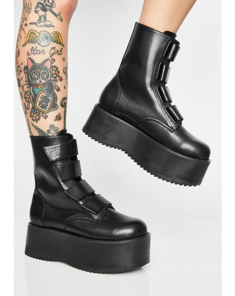 Eye Of The Storm Flatform Boots
