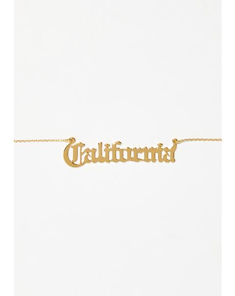 California Grl Necklace