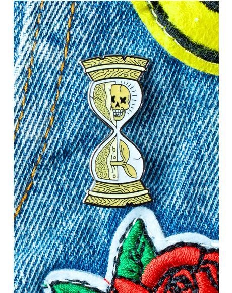 Hourglass Pin