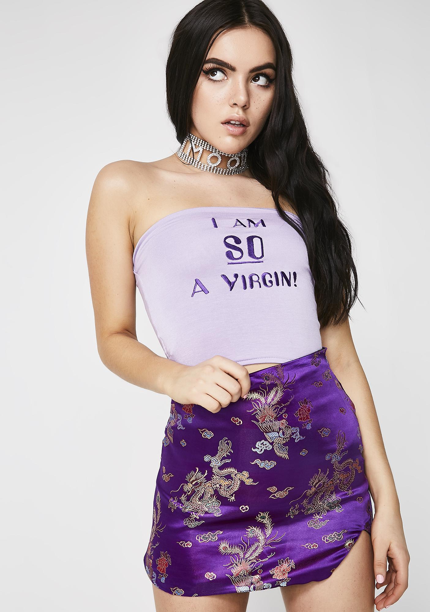 O Mighty Qiqi Mini Skirt