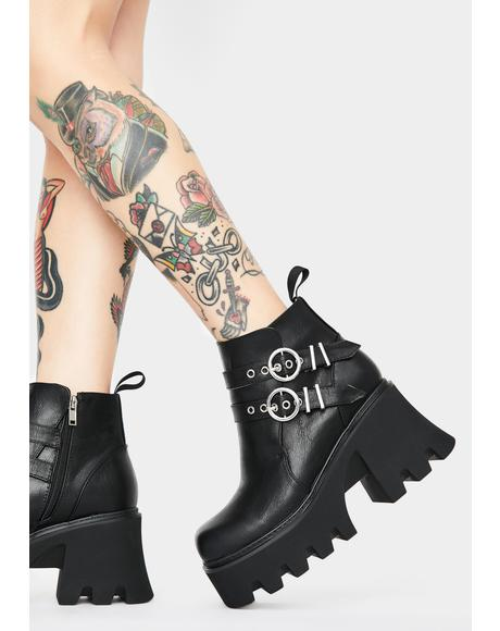 Takin Charge Ankle Boots