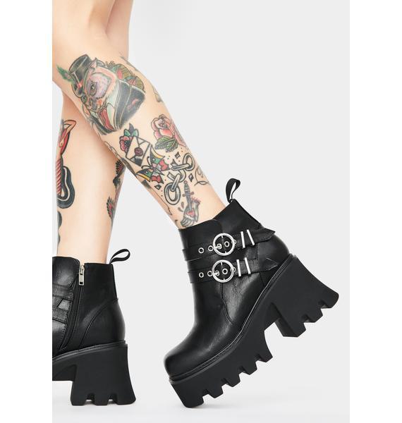 Lamoda Takin Charge Ankle Boots