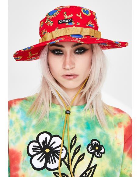 River Boonie Print Hat