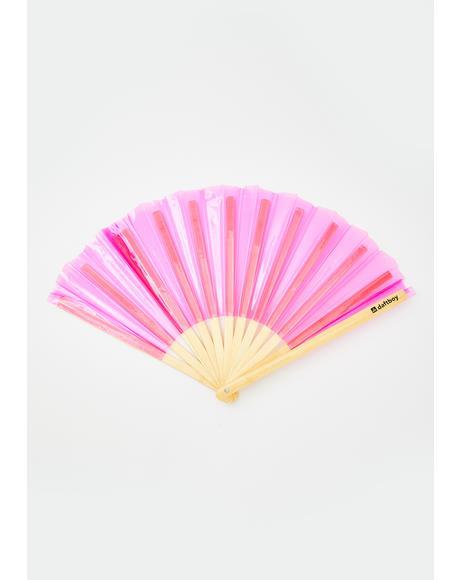 Hi-Lite Pink Fan