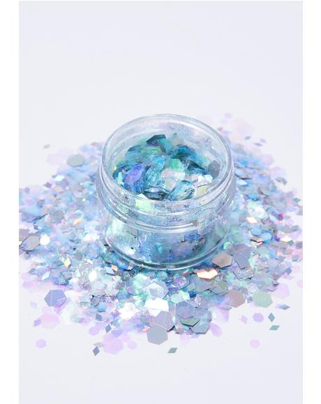 Snow Queen Face Glitter