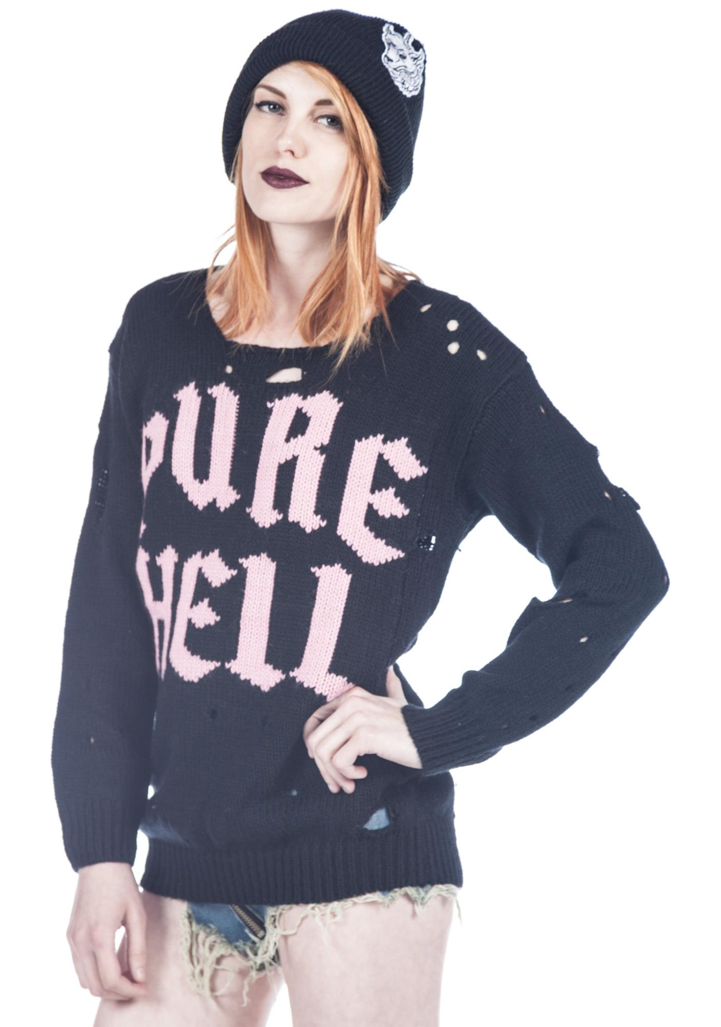 UNIF Pure Hell Sweater