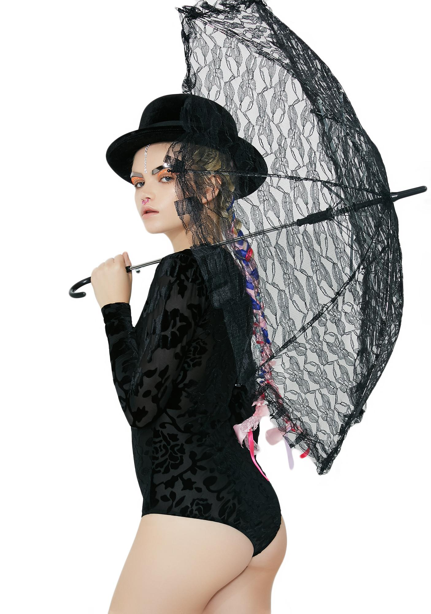 Poppin' Lace Parasol