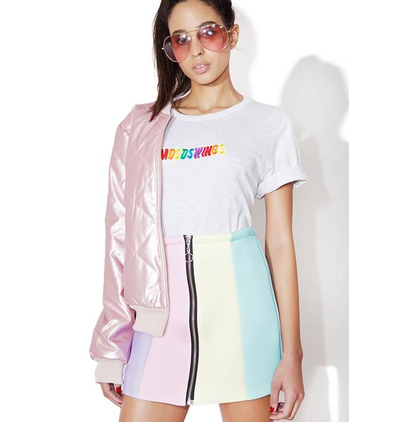 Local Heroes Rainbow Neoprene Skirt