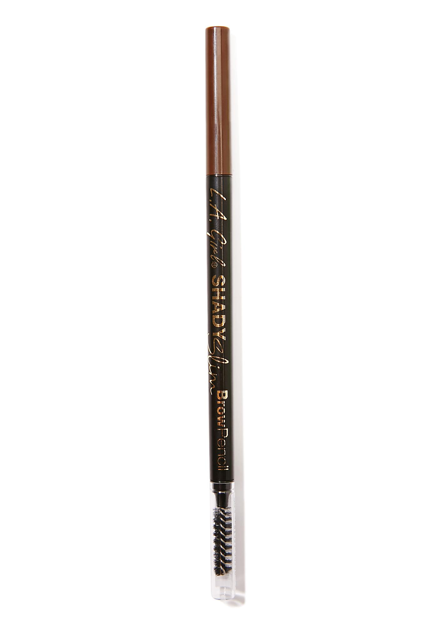 LA Girl Shady Slim Medium Brown Brow Pencil