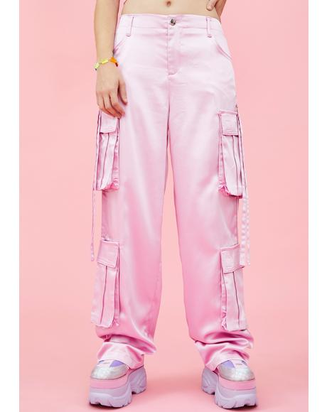 Candy Crushed Cargo Pants