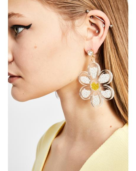 She's A Wildflower Earrings